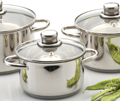 stainless steel cookwareset